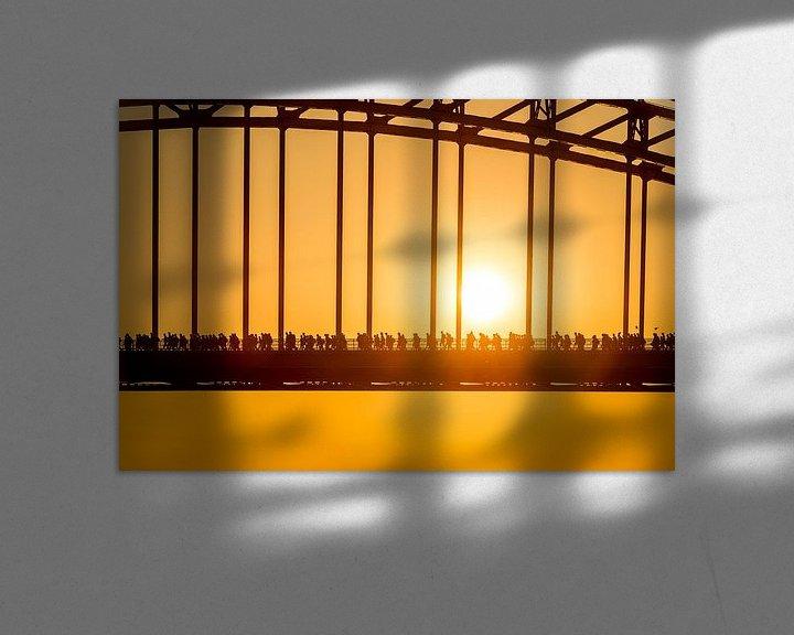 Sfeerimpressie: Vierdaagse Nijmegen Waalbrug van Sander Peters Fotografie