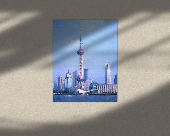 Sfeerimpressie: Shanghai Pudong van Patrick Hoenderkamp