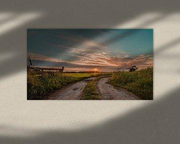 Pad naar de zonsondergang van R Smallenbroek
