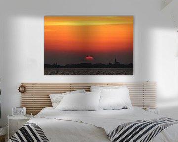 Sunset, Zonsondergang  Natuur