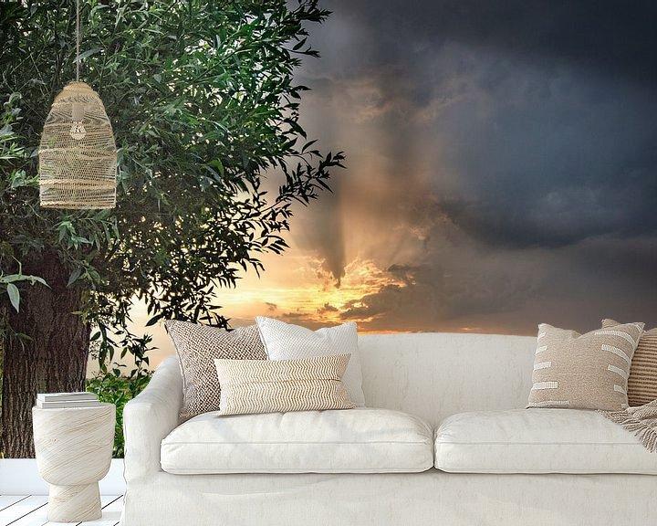 Beispiel fototapete: Beautiful air in Kropswolde von Greet ten Have-Bloem