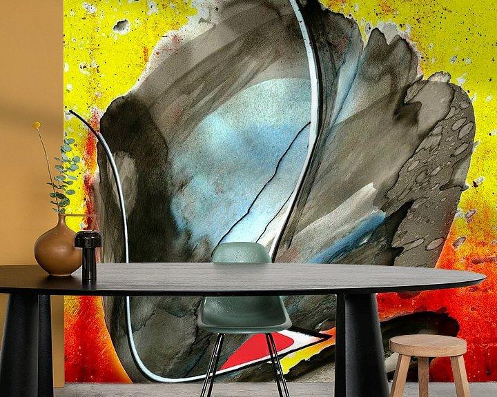 Beispiel fototapete: Abstrakte Impression  von Gertrud Scheffler