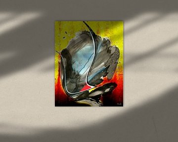 Abstrakte Impression  von Gertrud Scheffler