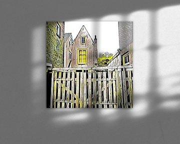 Old houses in Den Bosch van L.J. Lammers