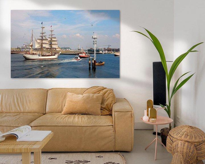 Sfeerimpressie: De Bark Europa (Scheveningen haven) van Jon Houkes