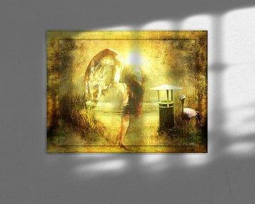 Angel spirit 1 van Yvon van der Wijk