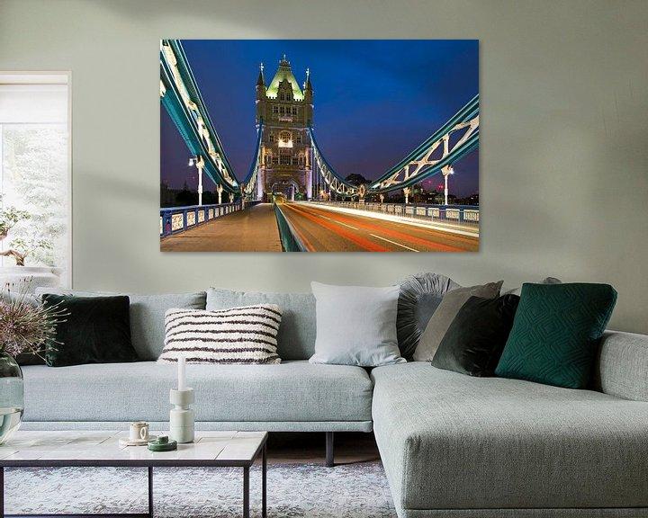 Sfeerimpressie: Tower Bridge te Londen van Anton de Zeeuw