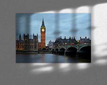 Nachtfoto Big Ben te Londen van Anton de Zeeuw
