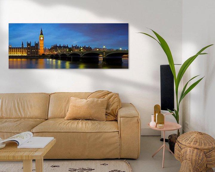 Sfeerimpressie: Panorama Big Ben te Londen van Anton de Zeeuw
