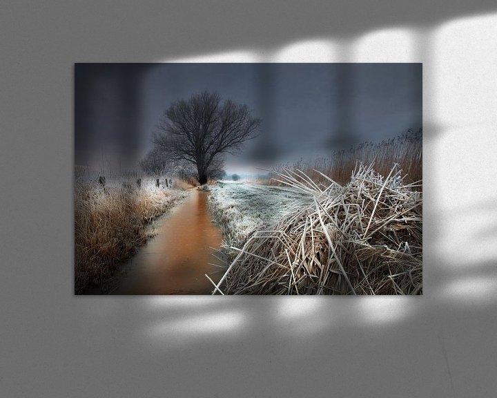 Sfeerimpressie: At the end of the yellow ditch van Ruud Peters