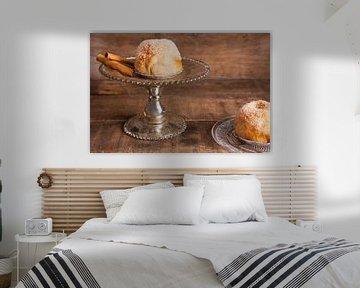 Klassische Bild von zwei Apfelknödel von Henny Brouwers