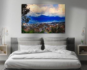 Kathmandu in Nepal van René Holtslag