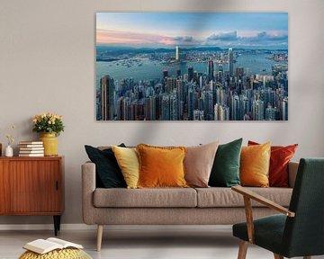 Hong Kong Panorama 30 von Tom Uhlenberg