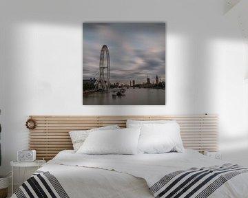 Millenium Wheel, London van Hans Kool