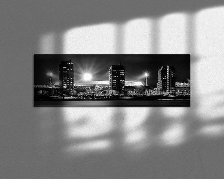 Sfeerimpressie: Panorama Stadion De Kuip - Feyenoord van Vincent Fennis