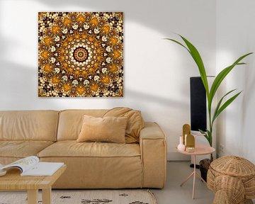 Kaleidoscoop Vlinders von Bright Designs