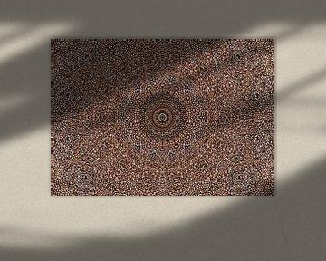 Kaleidoscoop Koffie von Bright Designs