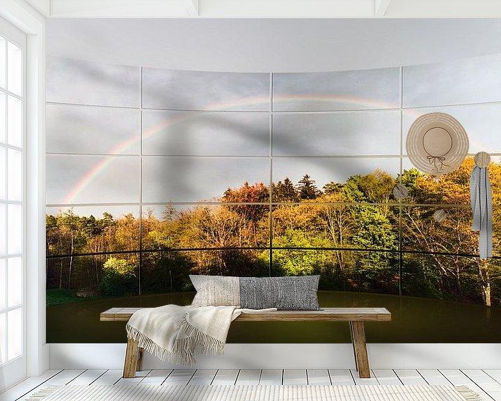 Beispiel fototapete: Regenbogen von Christine Nöhmeier