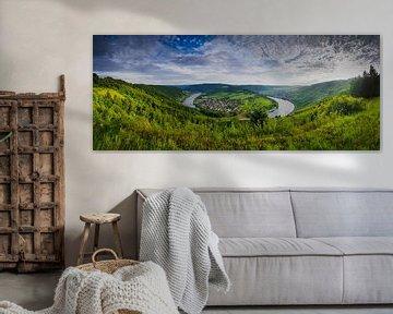 Coucher de soleil sur la Moselle - Wolf et Kröv