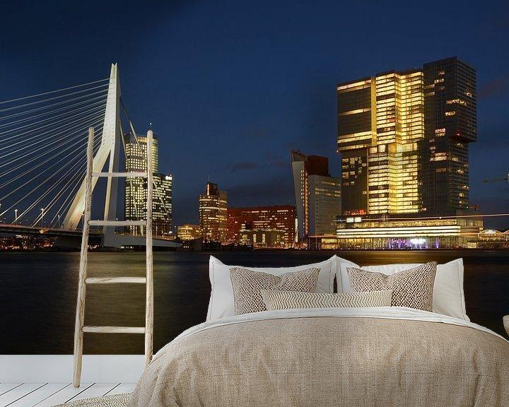 Beispiel fototapete: Rotterdam, Kop van Zuid von Rene Mensen