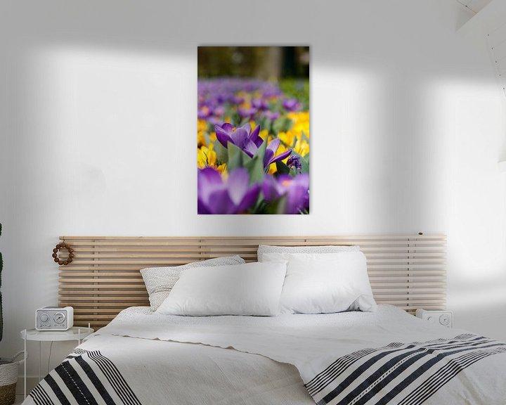 Sfeerimpressie: Bloemen in keukenhof van Ramon Bovenlander