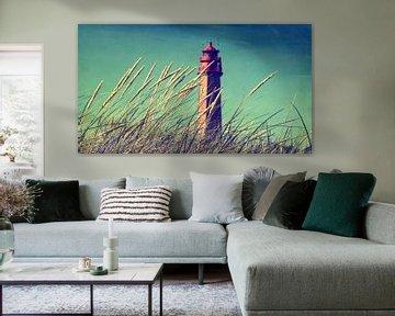 Leuchtturm am Strand von Tanja Riedel