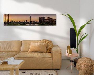 Panorama Dutch- Rotterdam Euromast van Pritish Ramkisoen