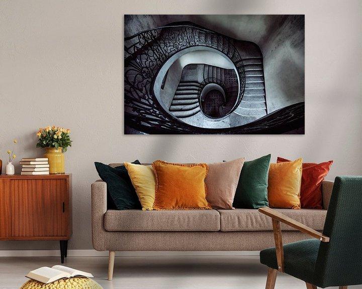 Beispiel: Downward spiral... von Valerie Leroy Photography