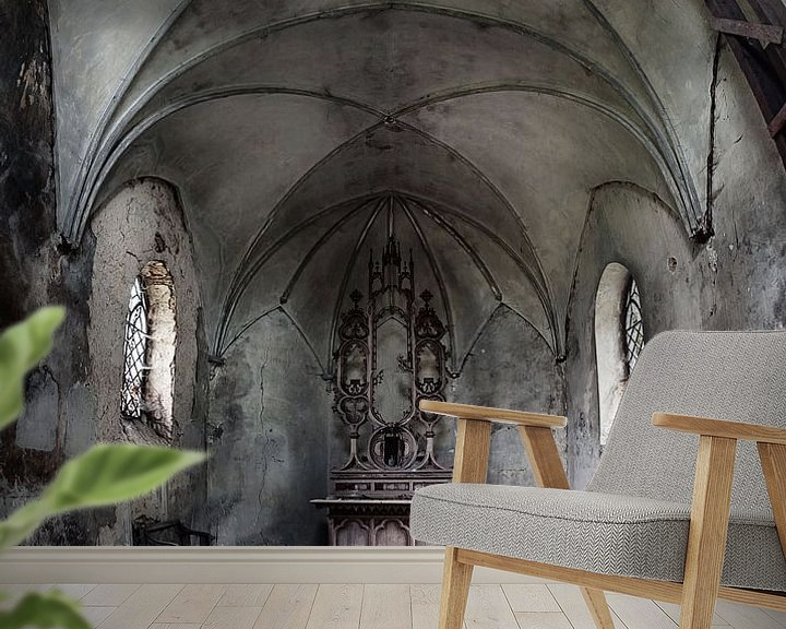 Beispiel fototapete: The decay of religion... von Valerie Leroy Photography