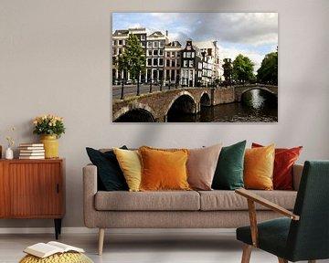 Oil Painting Amsterdam Canals and Canal houses  van Maarten  van der Velden
