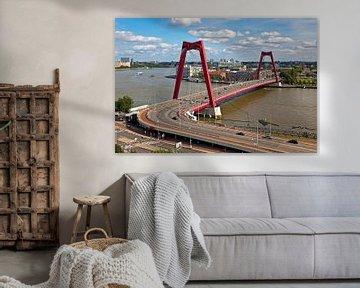 Willemsbrug Rotterdam van Anton de Zeeuw