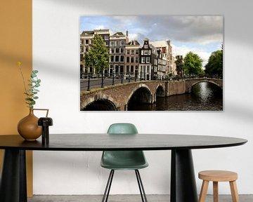Amsterdam Canals & Canal houses (picture) van Maarten  van der Velden