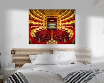 Gran Teatre del Liceu in Barcelona van Roy Poots