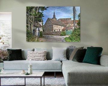 Midden in Frankrijk