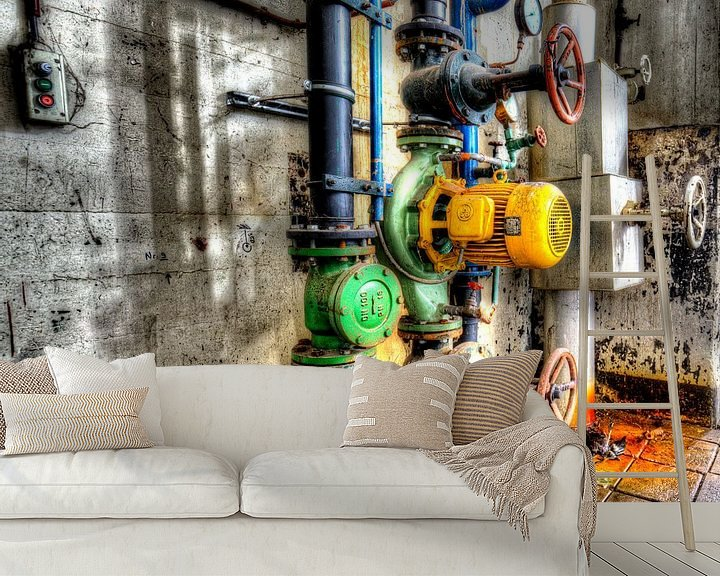 Impression: Abandoned power plant Dongecentrale  in The Netherlands Geertruidenberg sur noeky1980 photography
