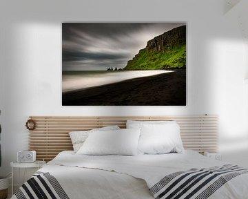 Der schwarze Strand von Vík