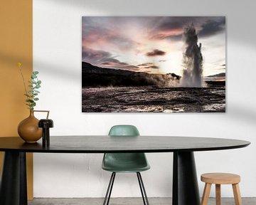 Geysir van Edwin van Wijk