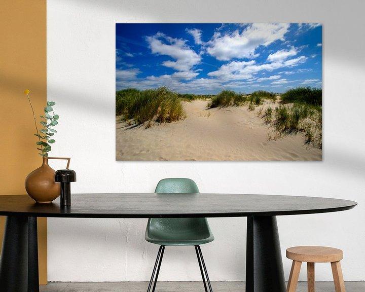 Sfeerimpressie: Duinen op Texel (De Hors) van Patrick van Oostrom