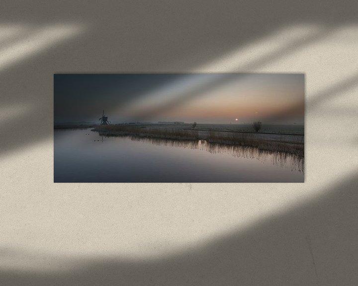 Sfeerimpressie: Hollandse Morgen van Raoul Baart