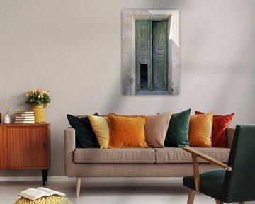 Grune Tür von Barbara Brolsma