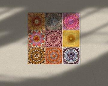 Mandala Collage von Bright Designs