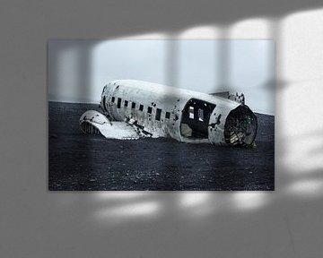 Vliegtuig wrak IJsland sur Menno Schaefer