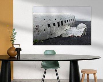 Épave d'avion Islande sur Menno Schaefer
