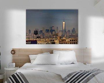 New York   Stadtübersicht von Kurt Krause