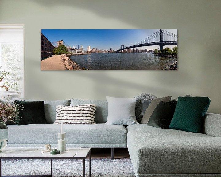 Sfeerimpressie: New York   Panoramaaufnahme van Kurt Krause