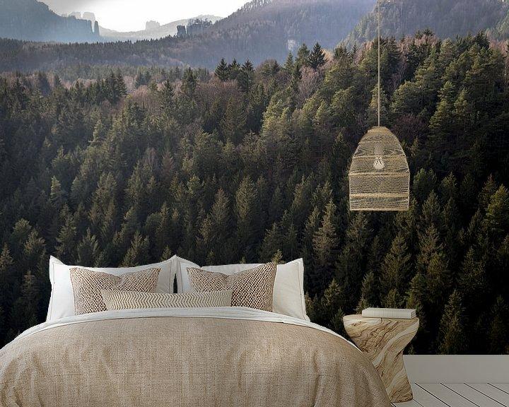Beispiel fototapete: Forest.  von Tina Hartung