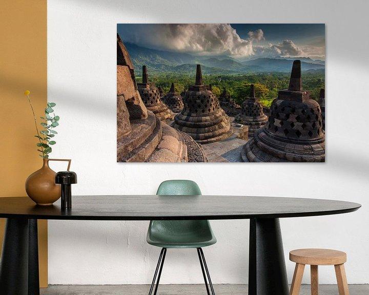 Sfeerimpressie: Borobudur tempel van Ilya Korzelius