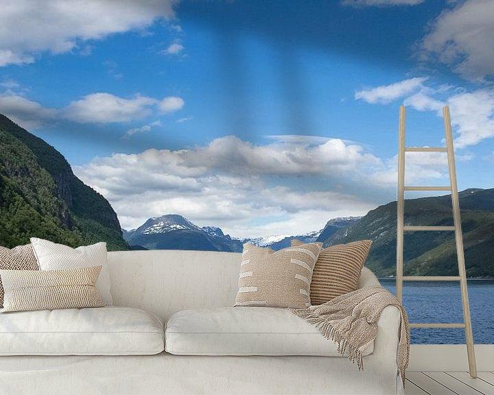 Impression: bergen landschap noorwegen sur Ramon Bovenlander