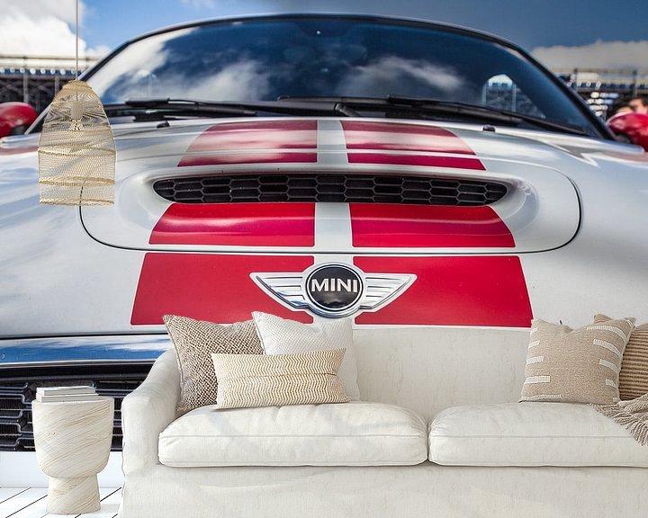 Sfeerimpressie behang: zandvoort auto van Ramon Bovenlander