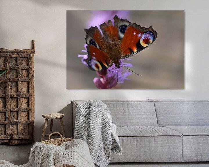 Beispiel: Butterfly on flower von Rene Mensen